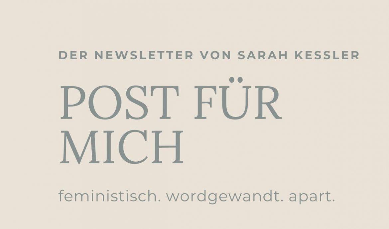 Newsletter // Post für mich